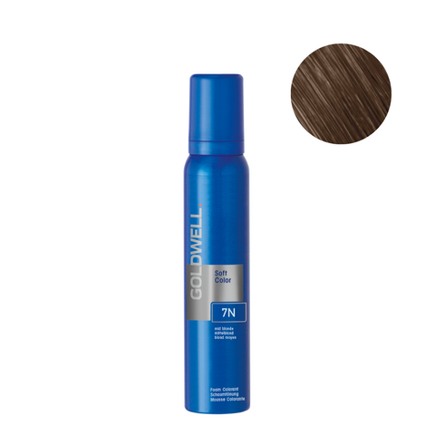 Goldwell Colorance Soft Color Foam 120g - 7N Mid Blonde