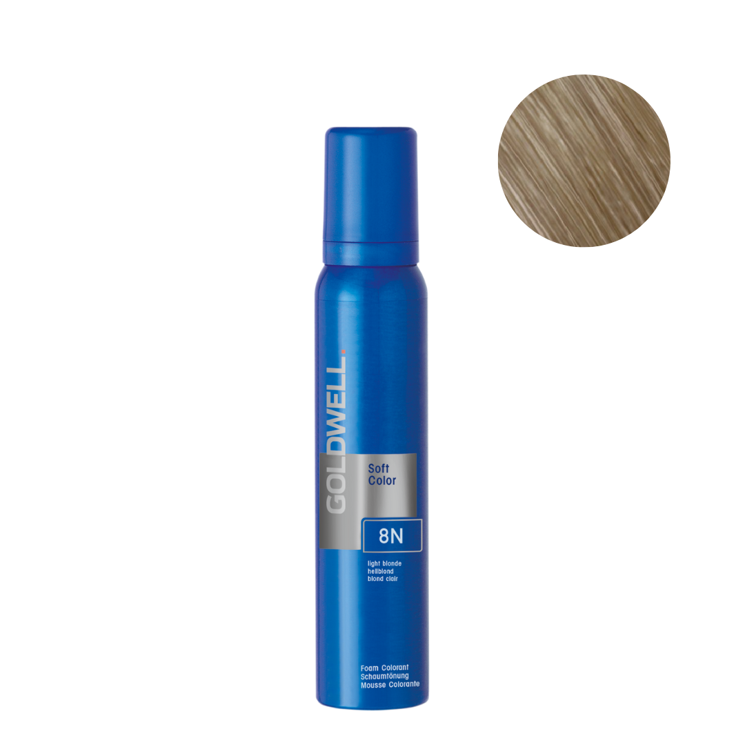 Goldwell Colorance Soft Color Foam 120g - 8N Light Blonde