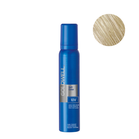 Goldwell Colorance Soft Color Foam 120g - 10V Pastel Violet Blonde