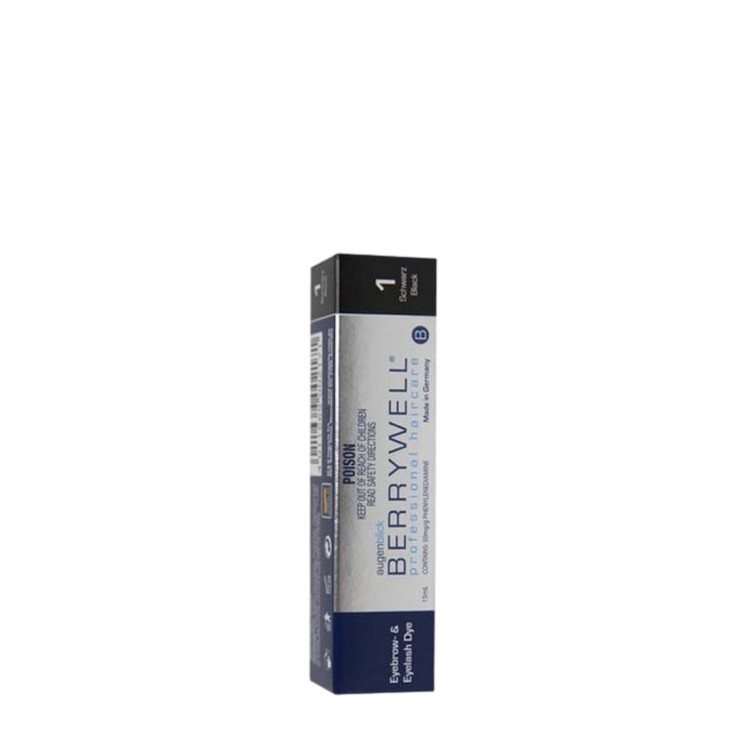 Berrywell Eyelash Tint 15ml - Black 1