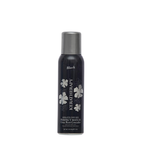 Keratherapy Gray Root Concealer - Black 118ml