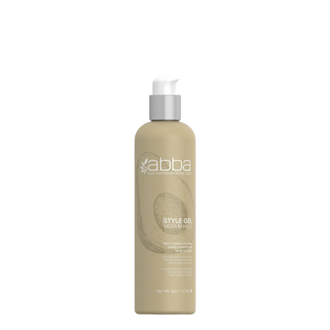 ABBA Style Gel Medium Hold 177ml