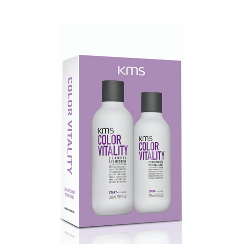 KMS Color Vitality Shampoo & Conditioner Duo Pack