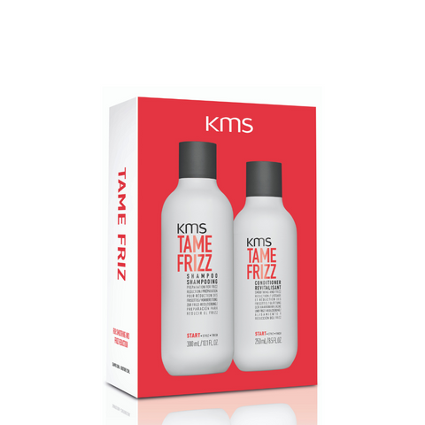 KMS Tame Frizz Shampoo & Conditioner Duo Pack