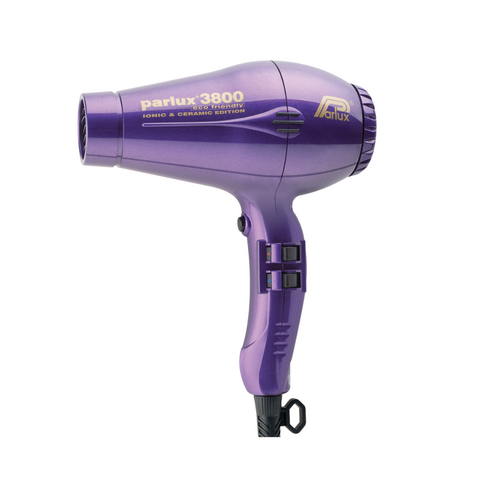 Parlux 3800 Ionic & Ceramic Hair Dryer Purple