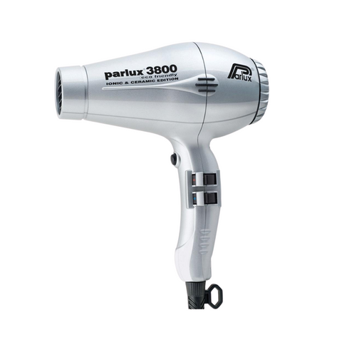 Parlux 3800 Ionic & Ceramic Hair Dryer Silver