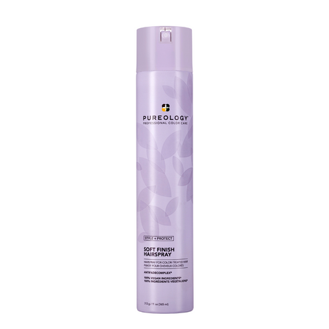 Pureology Style + Protect Soft Finish Hairspray 312g