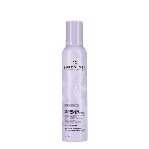 Pureology Style + Protect Weightless Volume Mousse 241g