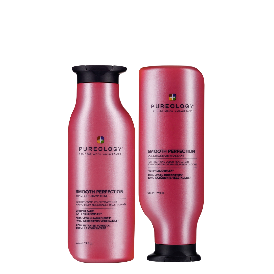Pureology Smooth Perfection Shampoo & Conditioner 266ml Duo
