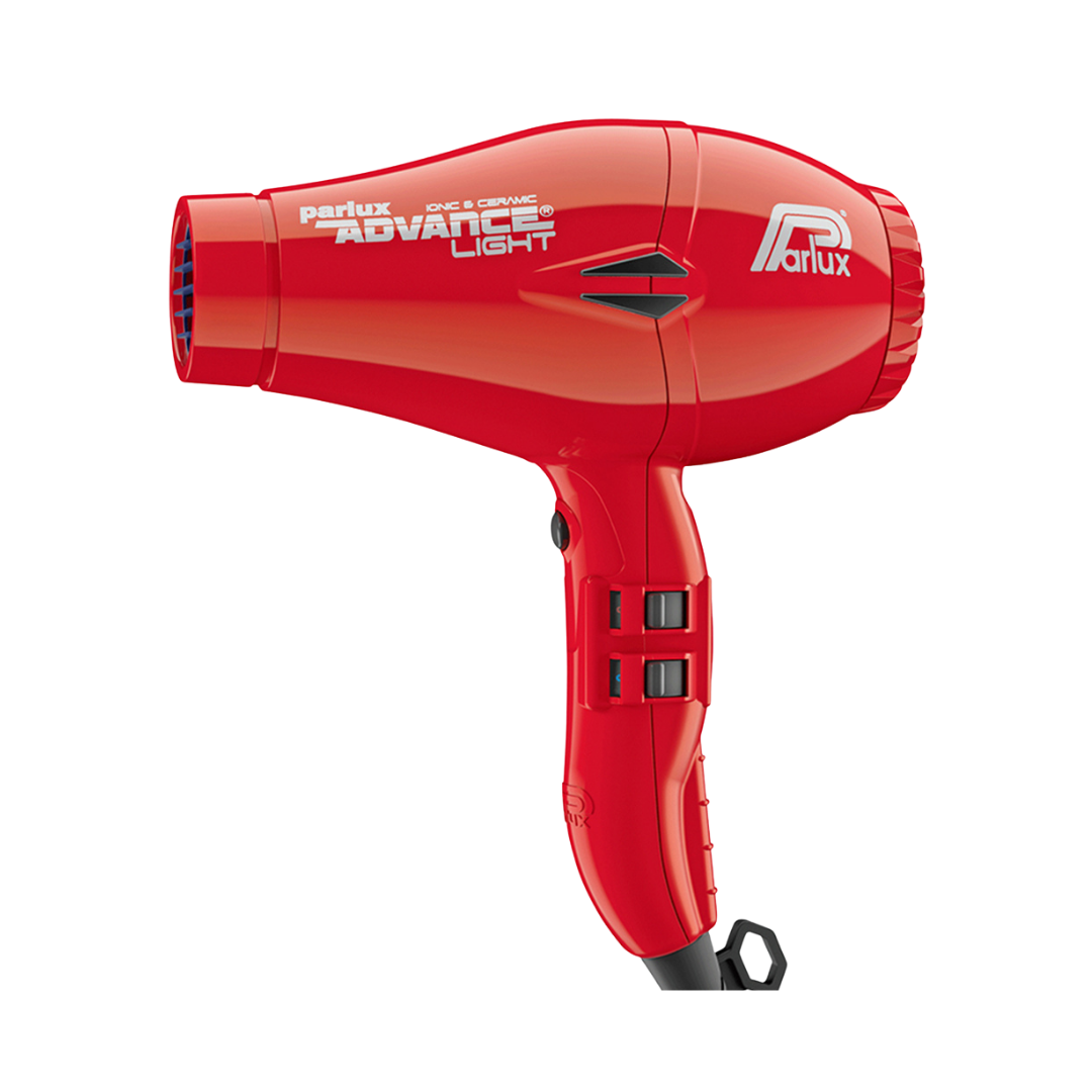 Parlux Advance Light Ceramic & Ionic Hair Dryer Red