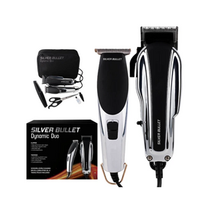 Silver Bullet Dynamic Duo Clipper & Trimmer Set