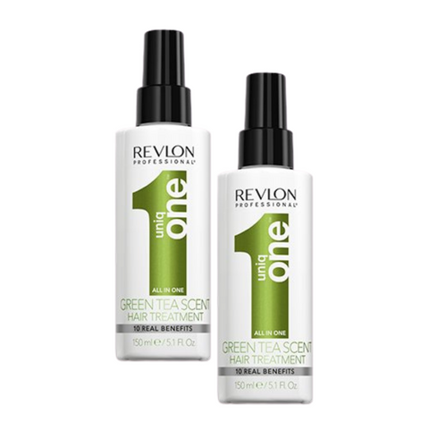 Uniq One All In One Green Tea Hair Treatment 150ml Duo