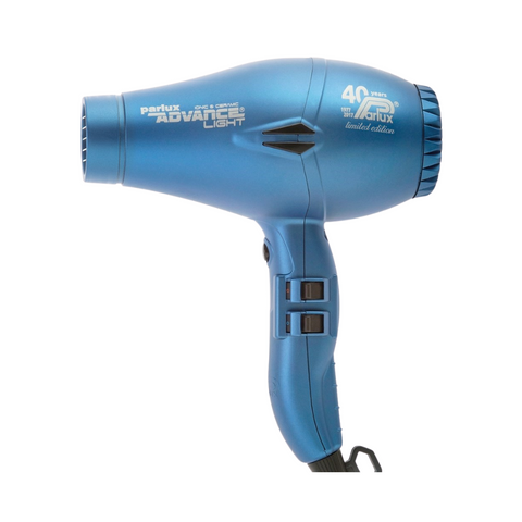 Parlux Advance Light Ceramic & Ionic Hair Dryer Matte Blue
