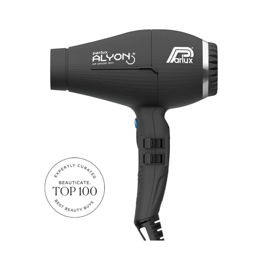 Parlux Alyon Air Ionizer Tech Hair Dryer Black
