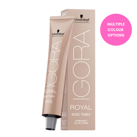 Igora Royal Permanent Color Creme 60ml - Nude Tones