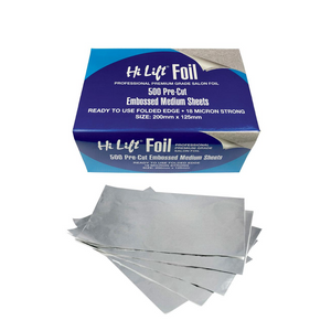 Hi Lift Foil 500 Pre Cut Folded Sheets 18 Micron Silver