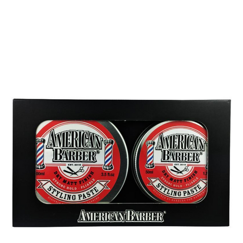 American Barber Styling Paste 100ml + 50ml Duo Pack
