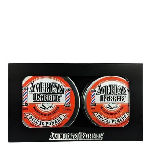 American Barber Deluxe Pomade 100ml + 50ml Duo Pack