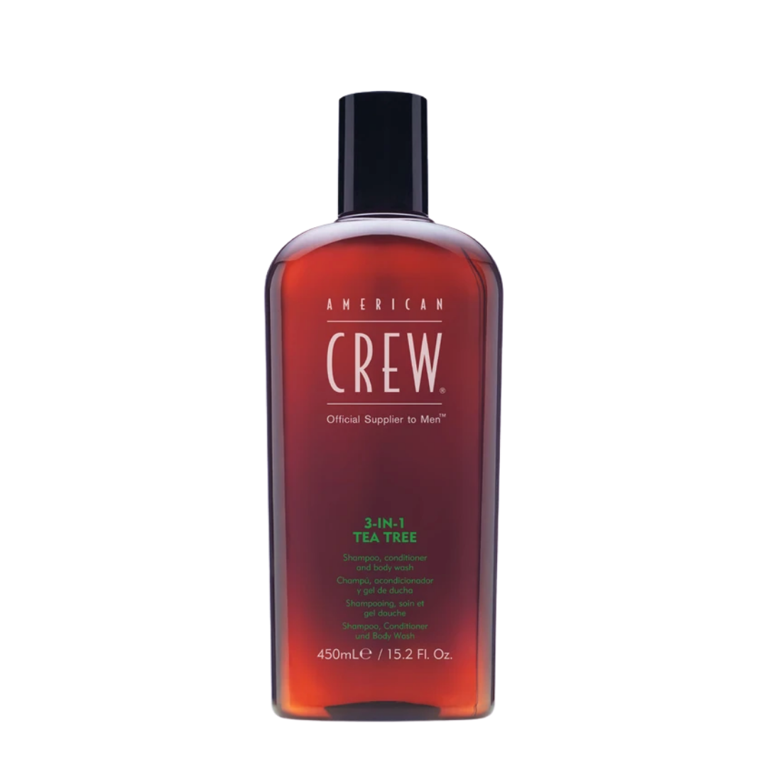 American Crew 3-In-1 Tea Tree 450ml