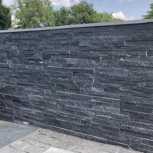 Black Sparkle Quartz I 550 x 150mm | Bluesky Stone