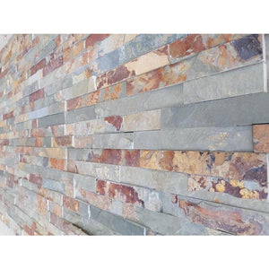 Rusty Multicolor Slate I 550 x 150mm | Bluesky Stone