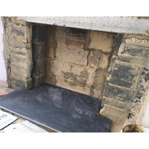 Slate Hearth | Wood burner | Fireplace | 1500x900 | Bluesky Stone