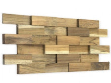 Load image into Gallery viewer, Wood Teak Cladding | Split Face | Brick Model | As Low as £35.75/M² | Bluesky Stone