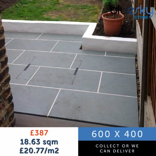 Grey Slate Paving Slabs | £20.77/m2 | Collection only | Bluesky Stone