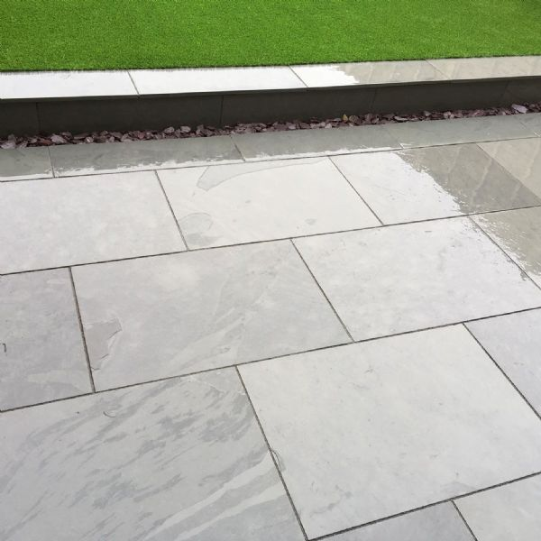 Grey Slate Paving Patio Slabs | 900 x 600 | As low as £28.00/m2 | Bluesky Stone
