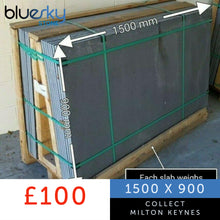 Load image into Gallery viewer, Slate Hearth 1500x900mm | Wood burner | Fireplace | Delivered