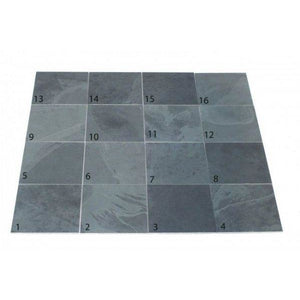 Black Slate Paving Patio Slabs | 600 x 400 | As low as £24.00/m2 | Bluesky Stone