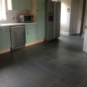 Grey Slate Floor Tiles - 80 x 40 cm | Bluesky Stone
