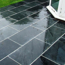 Load image into Gallery viewer, Black Slate Paving Tiles 80 x 40 cm £20.00/m² | Bluesky Stone