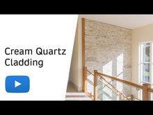 Load and play video in Gallery viewer, Cream Quartz I 360 x 100mm