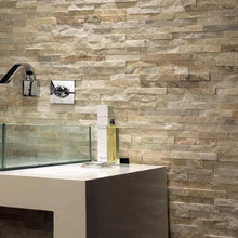 Load image into Gallery viewer, Stone Wall Cladding - Cream Quartz I 360 X 100mm