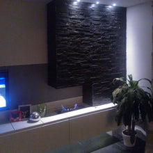Load image into Gallery viewer, Stone Wall Cladding - Split Face Tiles | Black (Grey) | 360 X 100 | As Low As £26.74/m2