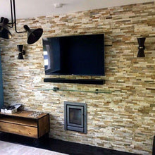 Load image into Gallery viewer, Stone Wall Cladding - Split Face Tiles | Oyster | As Low As £26.74/m2