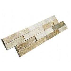 Stone Wall Cladding - Split Face Tiles | Oyster | As Low As £26.74/m2