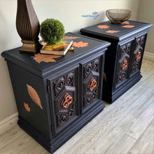 Load image into Gallery viewer, Autumn Leaves Side / Night Accent Table Set - Furniture MaRiTama HOME