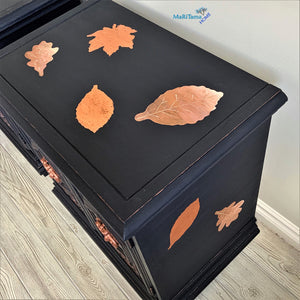 Autumn Leaves Side / Night Accent Table Set - Furniture MaRiTama HOME