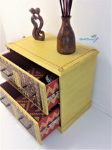 Load image into Gallery viewer,  MaRiTama HOME Boho yellow dresser