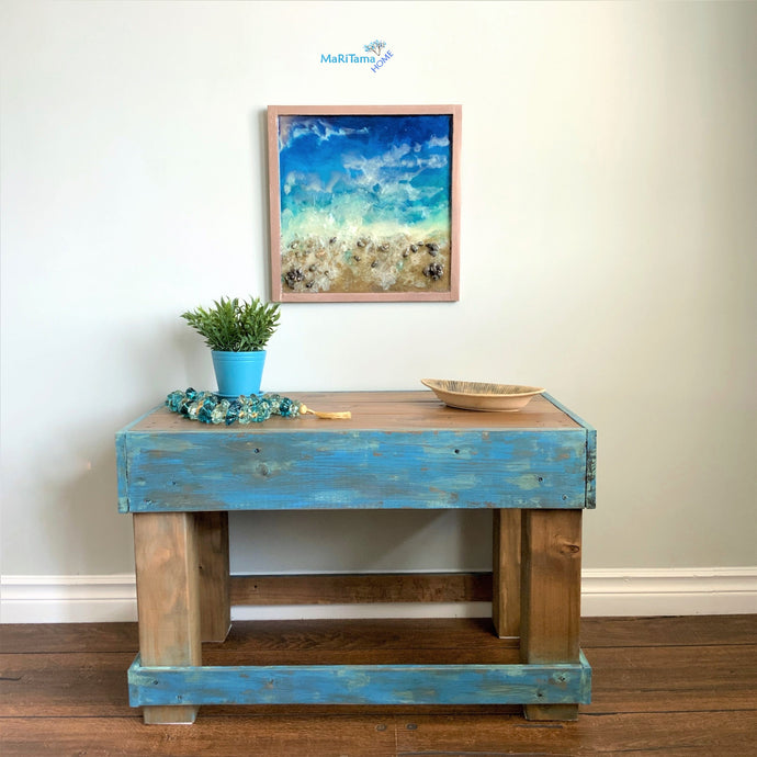 Custom made Farmhouse Coffee / Side Table - Custommade MaRiTama HOME