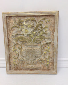 MaRiTama HOME Hand-painted flower frame