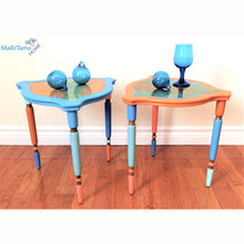 Load image into Gallery viewer, Mix Match Resin Top Side table Set - Furniture MaRiTama HOME