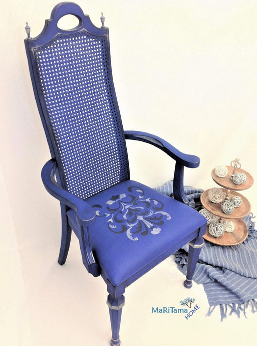 MaRiTama HOME blue throne king luxury chair