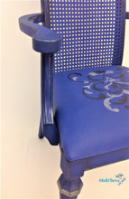 Load image into Gallery viewer, MaRiTama HOME blue throne king luxury chair