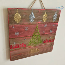 Load image into Gallery viewer, Small Wooden Christmas Sign - Home Decor MaRiTama HOME