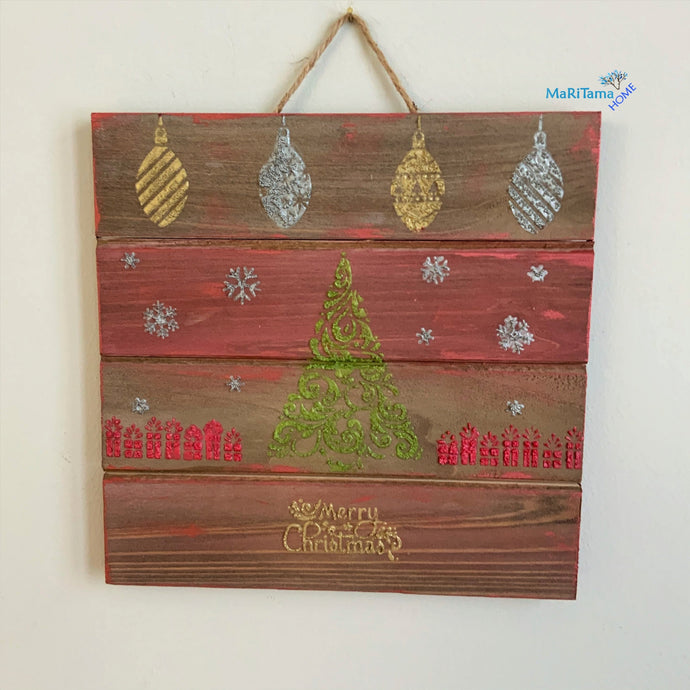 Small Wooden Christmas Sign - Home Decor MaRiTama HOME