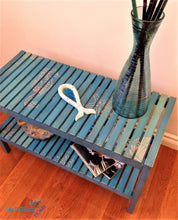 Load image into Gallery viewer, MaRiTama HOME coastal blue bench entry table