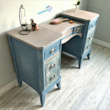 Load image into Gallery viewer, Vintage French Provincial Blue Vanity - Furniture MaRiTama HOME